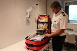 Kein EU-Exportstopp für medizinische Schiffsausrüstung