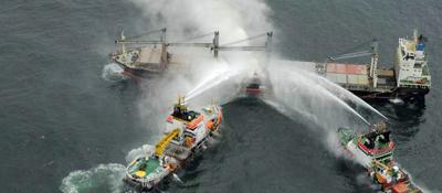 Bild: Purple Beach Schiffsunfall (IMSBC), Havariekommando