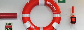 Ausrüstung zur Rettung aus See