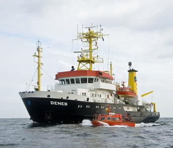 BSH in Rostock nimmt Landstromanschluss für Forschungsschiff in Betrieb