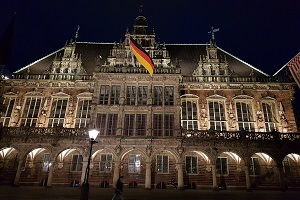 Bremen setzt sich für deutsche Flagge ein