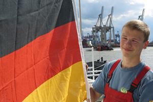 Deutsche Flagge (klein)
