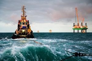 Besichtigungen von ausländischen Offshore-Schiffen
