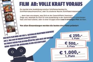Filmwettbewerb Ausbildung in der Seeschifffahrt