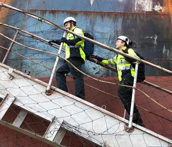 Arbeitsschutz: Sicheres Begehen von Ballastwassertanks