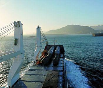 Einflaggung von Schiffen mit Asbest