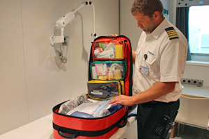 No EU export stop for medical ship equipment
