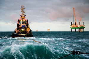 Surveys of offshore ships from abroad