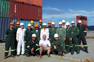 UNO Resolution about the importance of seafarers' work