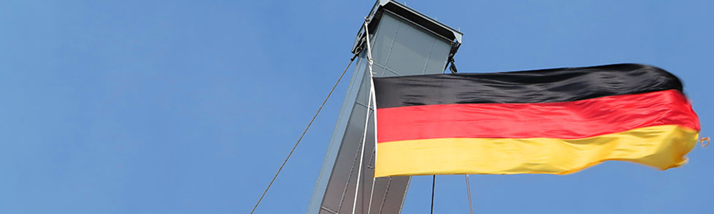Header deutsche Flagge